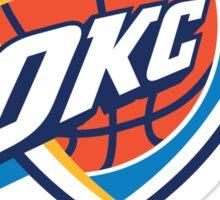 Oklahoma City Thunder Sticker