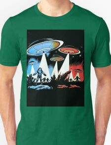 Earth Vs The Flying Saucers Unisex T-Shirt