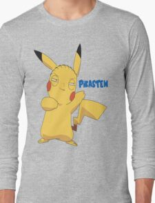 PikaStew Stewie Griffin as Pikachu Long Sleeve T-Shirt