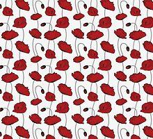 Poppy seamless by JCambell