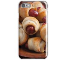 Pig in a blanket iPhone Case/Skin