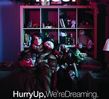 M83 - Hurry Up, We're Dreaming Album Art Poster by charliehsmith