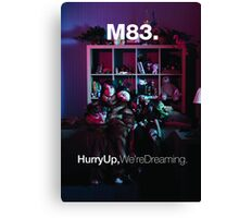 M83 - Hurry Up, We're Dreaming Album Art Poster Canvas Print