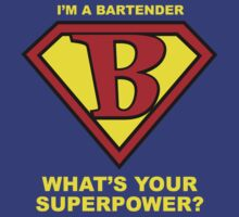Bartender Superhero by Rich Anderson