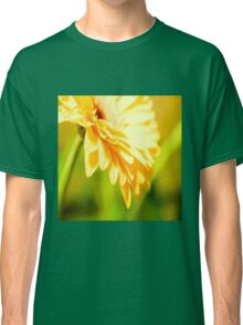 Bright Sunny Yellow Flower Classic T-Shirt