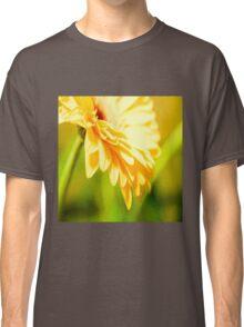 Bright Sunny Yellow Flower Classic T-Shirt