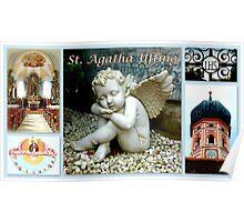 St. Agatha ~ Uffing Poster