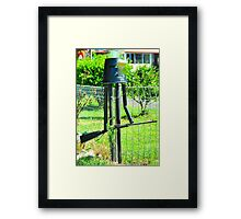 Stand and Deliver # 10 Framed Print
