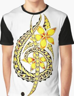 Tribal Note Art  Graphic T-Shirt