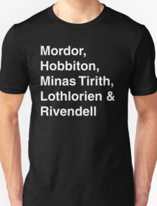 Kingdoms of Middle Earth T-Shirt