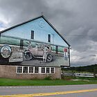 Lincoln Highway Barn Mural by Mark Van Scyoc