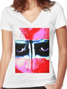 Psychedelic Primitive Women's Fitted V-Neck T-Shirt
