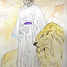 Daniel and the Lions by Anne Gitto