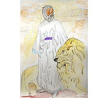 Daniel and the Lions Photographic Print