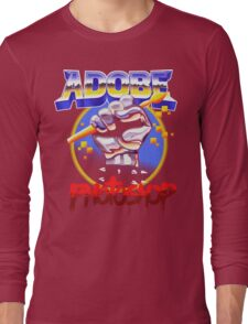 SHOPPING IS SO METAL Long Sleeve T-Shirt