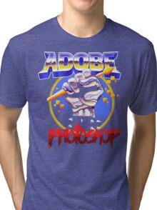 SHOPPING IS SO METAL Tri-blend T-Shirt