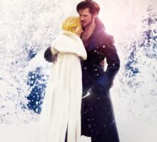 Christmas Time with Captain Swan Sticker