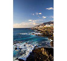 Tenerife Coastline Photographic Print