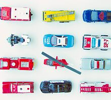 Emergency Vehicles by Amanda Roberts
