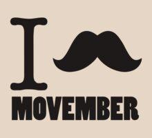 I Stache Movember by ishirtsf