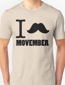I Stache Movember T-Shirt
