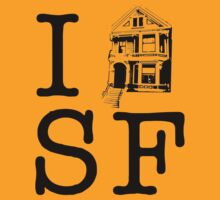 I Painted Lady SF by ishirtsf
