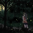Firefly Forest by MoonyIsMoony