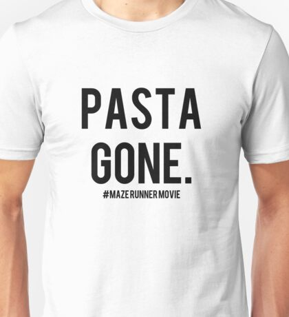 not actually about pasta really Unisex T-Shirt