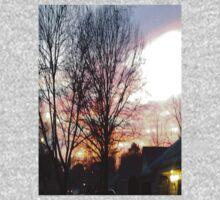 mysterious sunset  Kids Tee