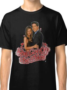 She Got Off The Plane Classic T-Shirt