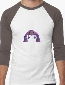 ART from MONSTERS UNIVERSITY Men's Baseball ¾ T-Shirt