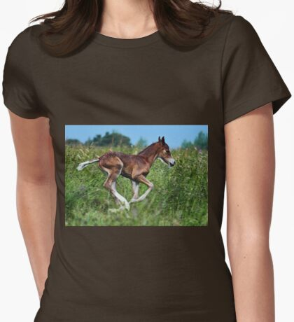 Born Free  Womens Fitted T-Shirt