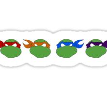 TMNT graphic heads Sticker