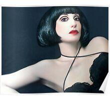 Exotic Beauty - Self Portrait Poster