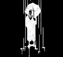 Half-Life 2 Umbrella Graffiti Inverted by WhoMan10
