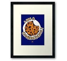 Cumbercookie of the Cumberbatch! Framed Print