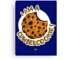 Cumbercookie of the Cumberbatch! Canvas Print