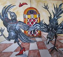 Fowl Play Series: Juke Joint Crows by Jeanne Vail