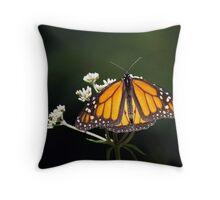 Low Key Monarch Throw Pillow