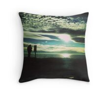 As the Sunsets Throw Pillow