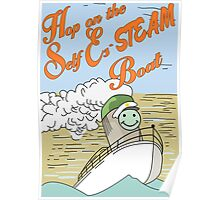 Hop on the Self Es-STEAM Boat. Bob's Burgers Poster