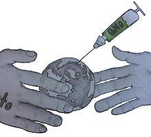 Monsanto GMO FDA Hand Shake by Ryan Dovey by Scott Dovey