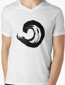 Enso 1 Mens V-Neck T-Shirt