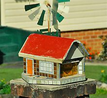 Mini House Mail Box # 4 by Penny Smith