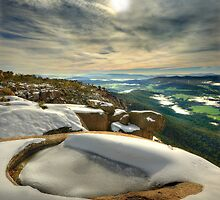 Ovens Valley from Mount Buffalo by Kevin McGennan