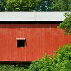 Oakalla Covered Bridge in Indiana by Kenneth Keifer