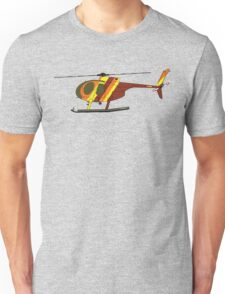Hughes 500D Helicopter Unisex T-Shirt