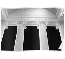 Ionic Columns of Thomas Jefferson I Poster