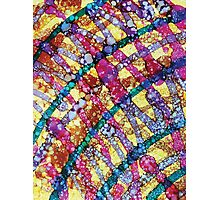Mardi Gras Abstract by Mark Compton Photographic Print