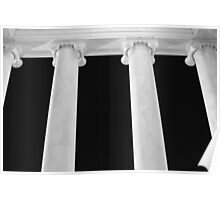Ionic Columns of Thomas Jefferson II Poster